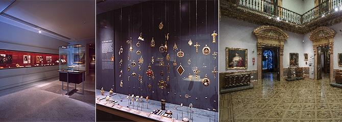 Plantas baja y primera del Museo Lázaro Galdiano. Sala I, Cámara del Tesoro y Salón de baile